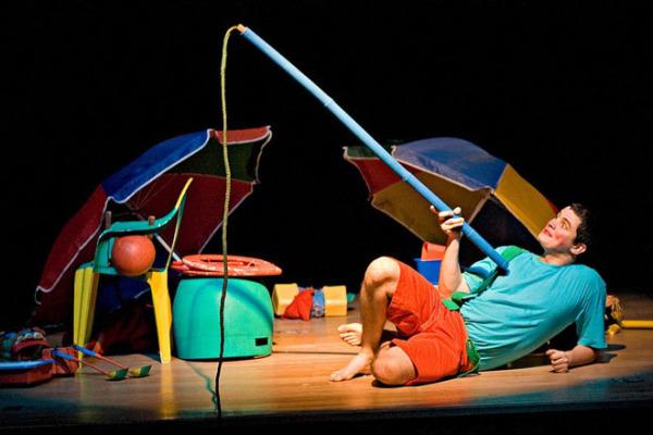 Companhia de São Paulo no Teatro para Piás e Gurias
