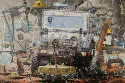 Carlos Huffmann na SIM Galeria