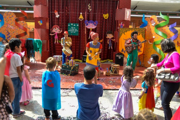 Faz de Conta convida crianças para Bailinho de Carnaval