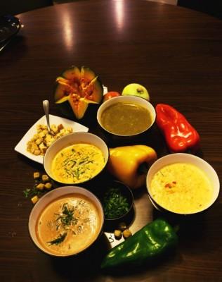 Ken Taki cria quatro variedades de sopas
