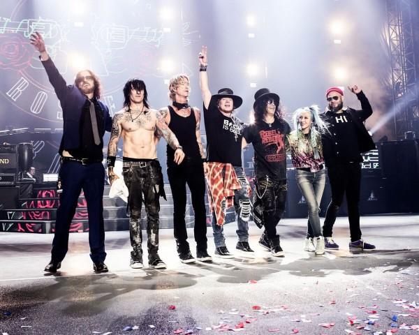 Guns N'Roses volta ao Brasil com formação clássica
