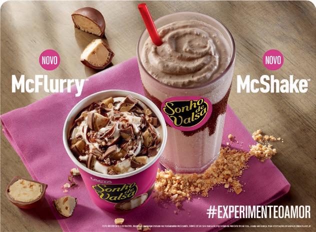 Novas sobremesas do McDonald's