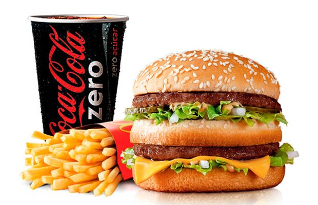 Big Mac e Coca-Cola