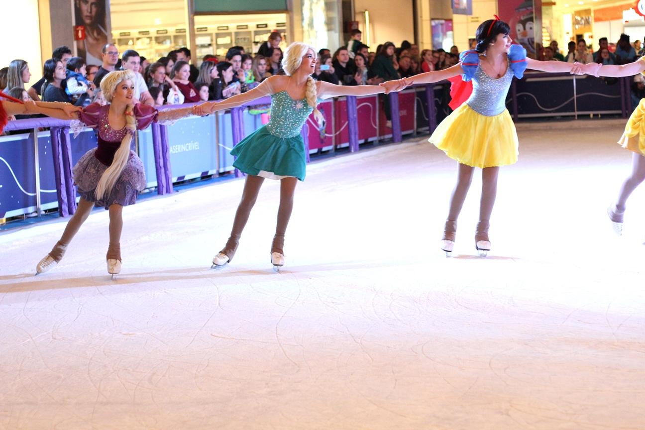 Shows de patinação no gelo