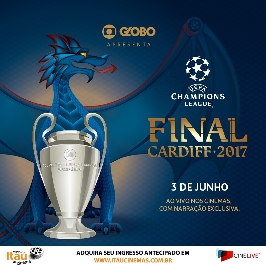 Cinema vai transmitir Champions League