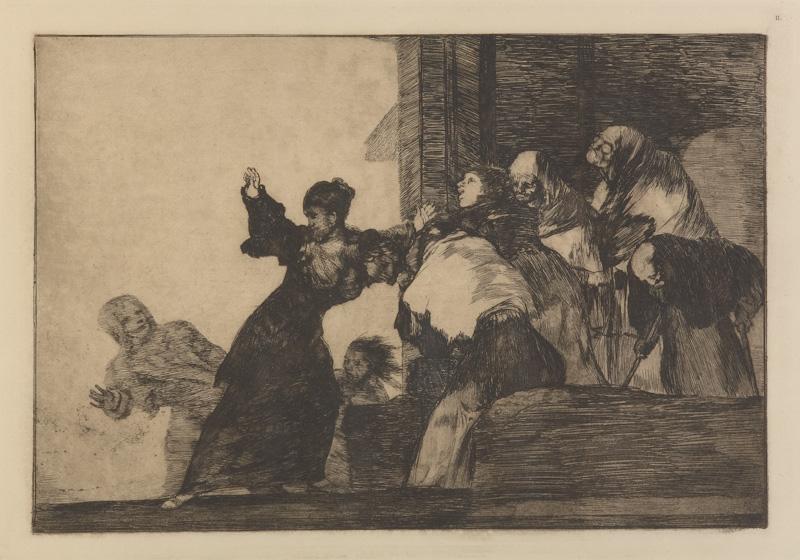 Exposição de gravura de Goya na Caixa Cultural