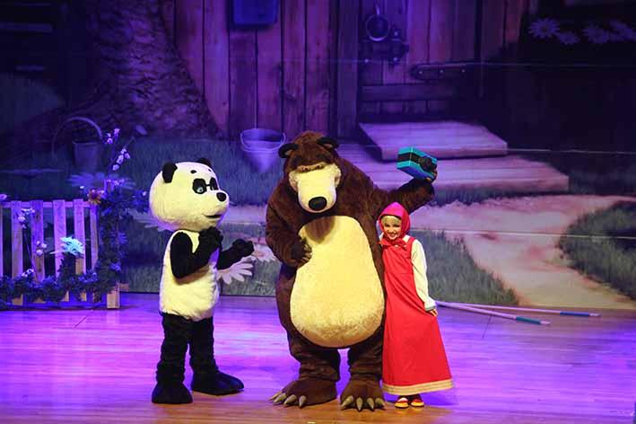 PROMOÇÃO: Masha e o Urso Live Show