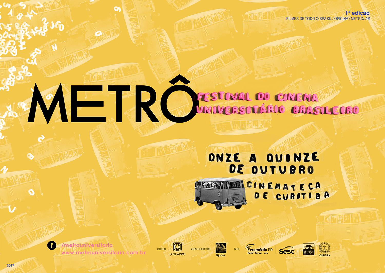 1° edição do Festival Metrô