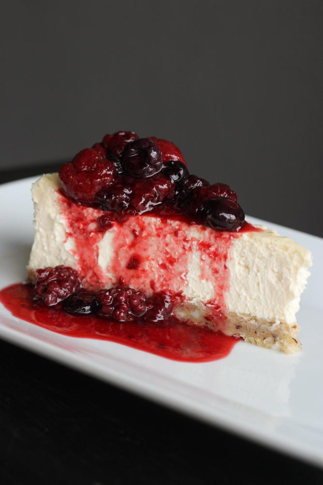Cheesecake no New York Cafe