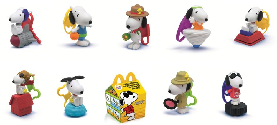 Snoopy™ no McDonald's