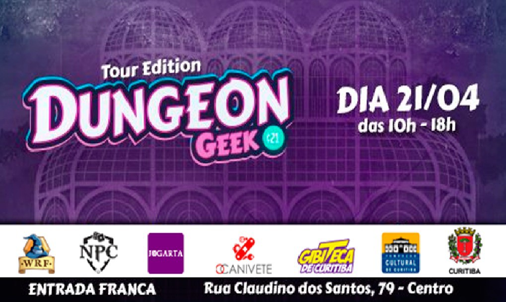 1º Dungeon Geek Tour Edition