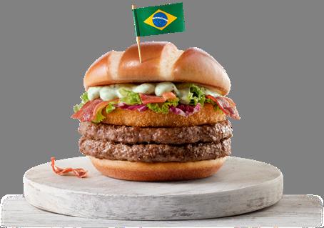 McDonald's apresenta seus sanduíches campeões