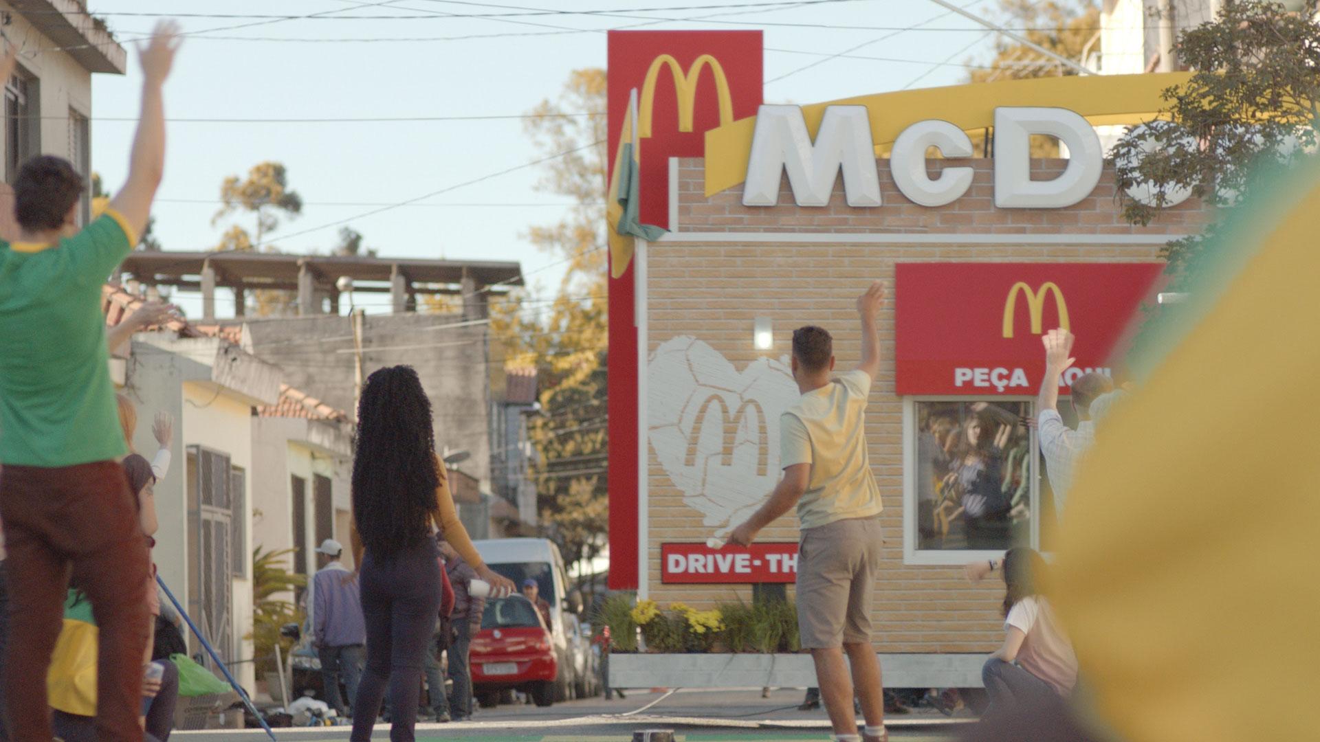 McDonald's celebra o Drive-Thru