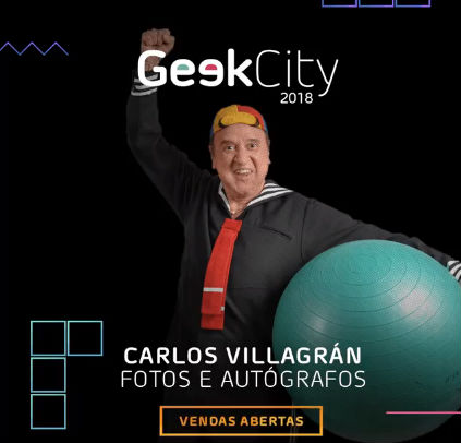 Meet and greet com Carlos Villagrán