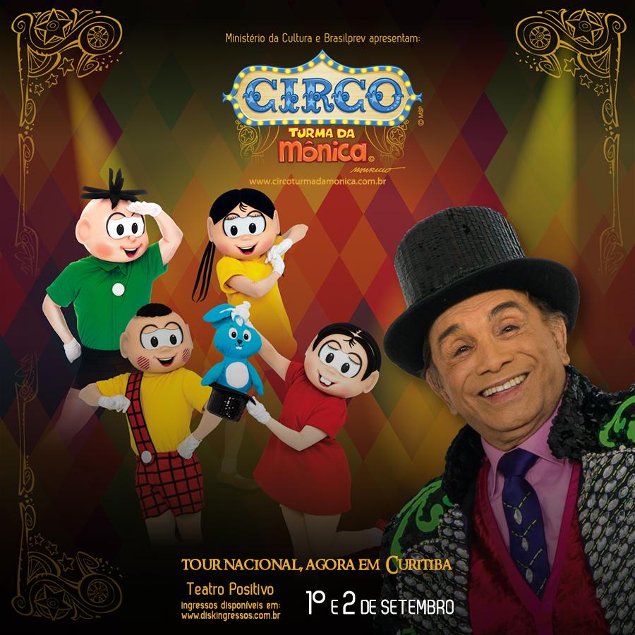 PROMOÇÃO: Circo da Turma da Mônica
