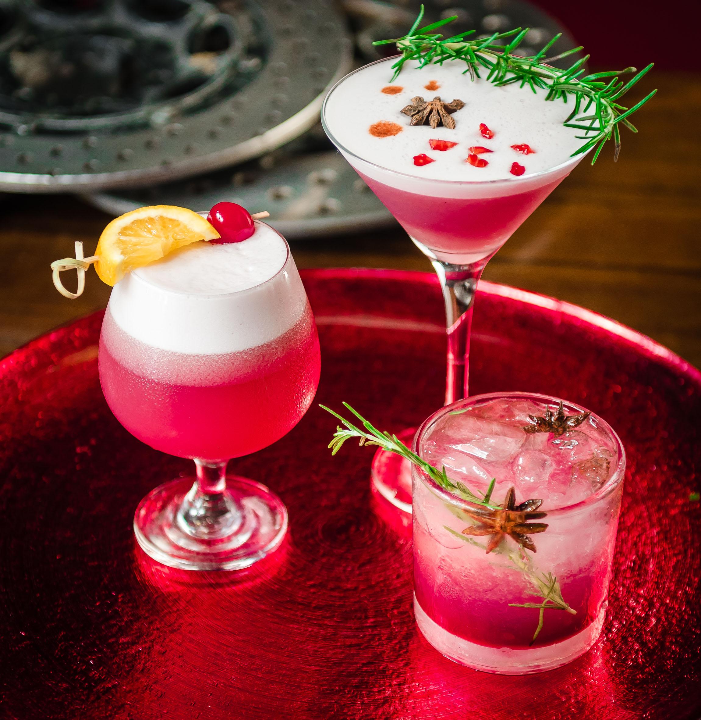 Drinks em prol do Outubro Rosa