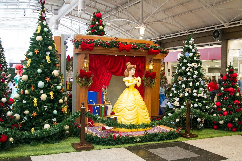 Mundo mágico de Natal no Shopping Estação