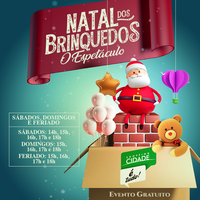 Natal do Shopping Cidade