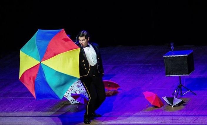 Show de mágica e ilusionismo