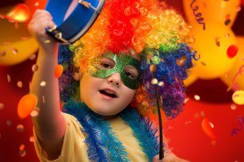Bloco de carnaval na Bispo Dom José