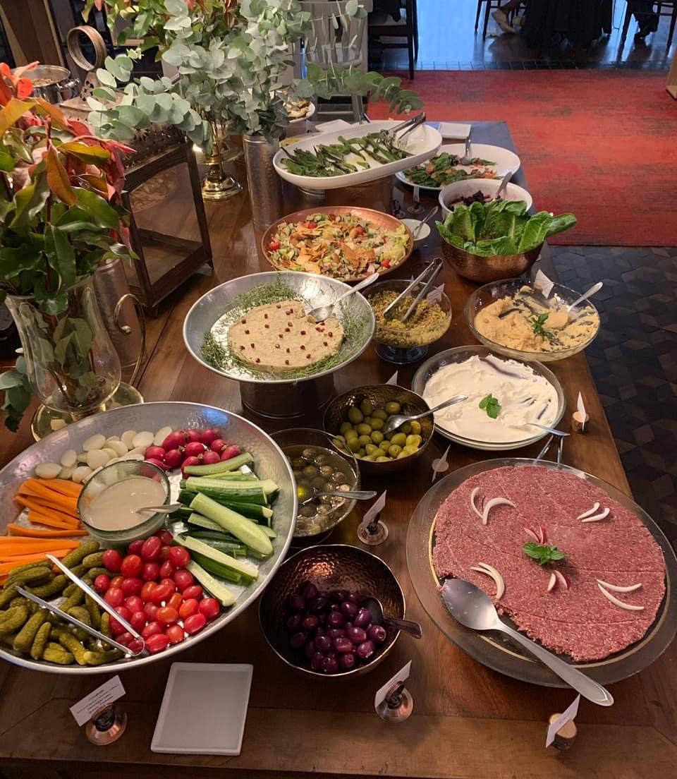 Comida libanesa na Páscoa