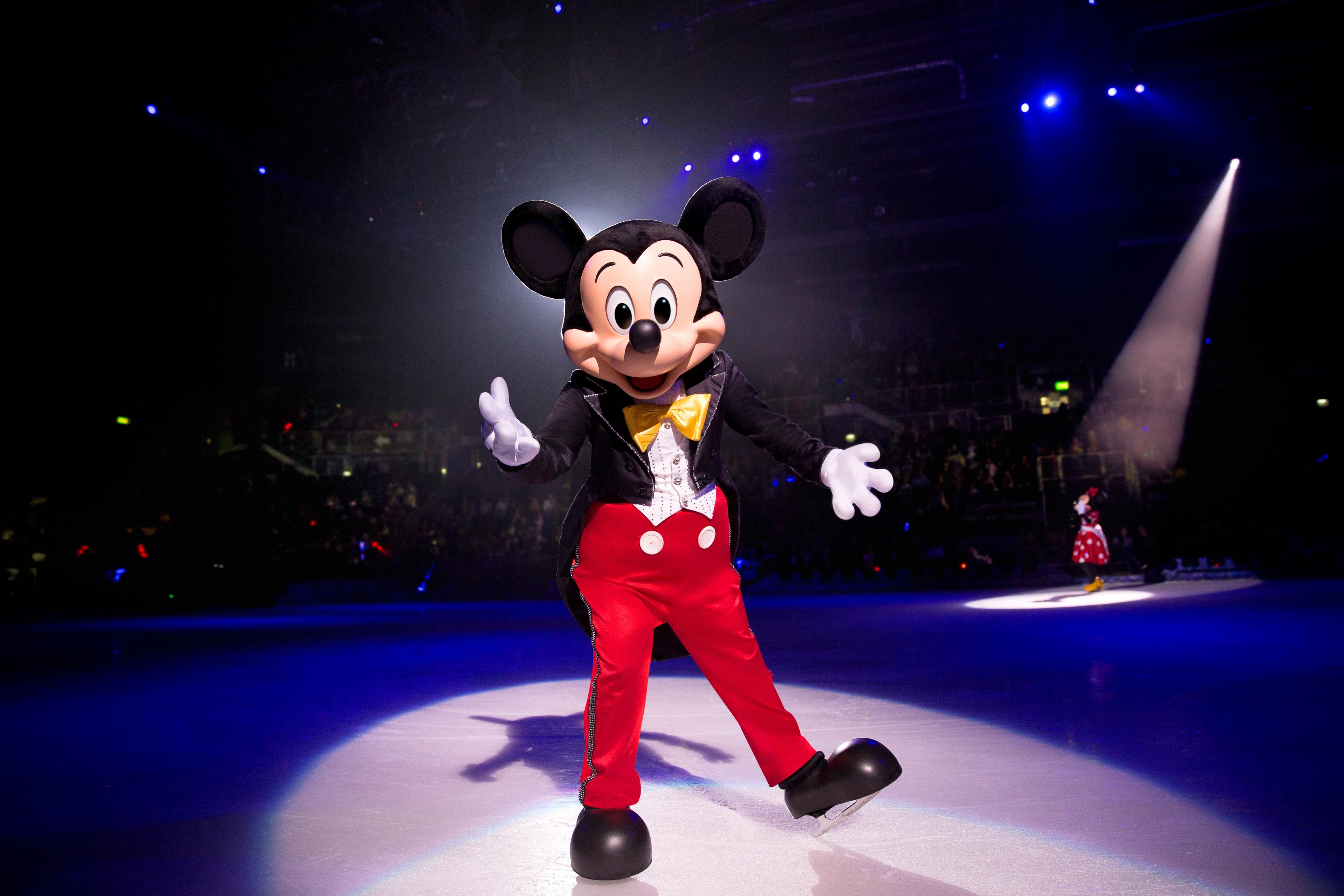 O mundo da Disney no gelo