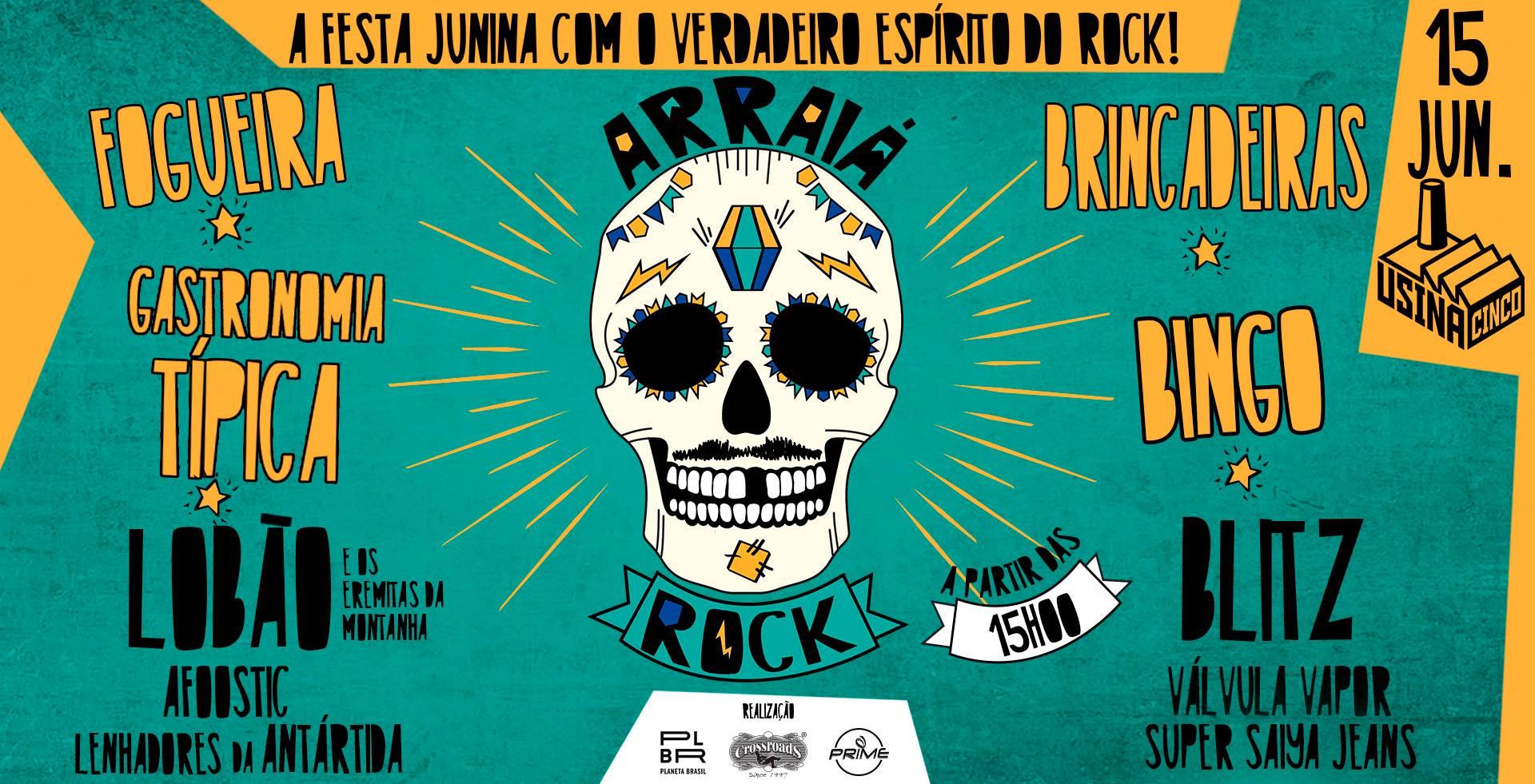CANCELADO: Arraiá Rock