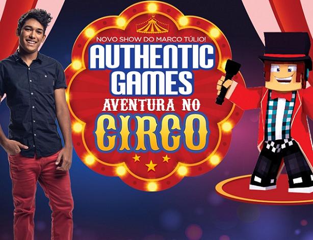 PROMOÇÃO: Authentic Games - Aventura no Circo