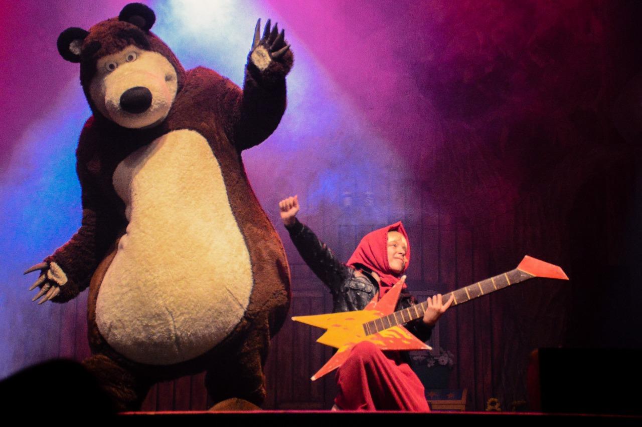 PROMOÇÃO: Masha e o Urso
