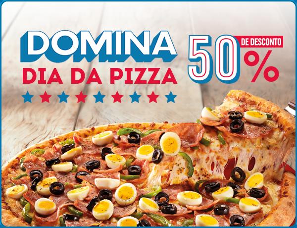 Dia da Pizza no Domino's