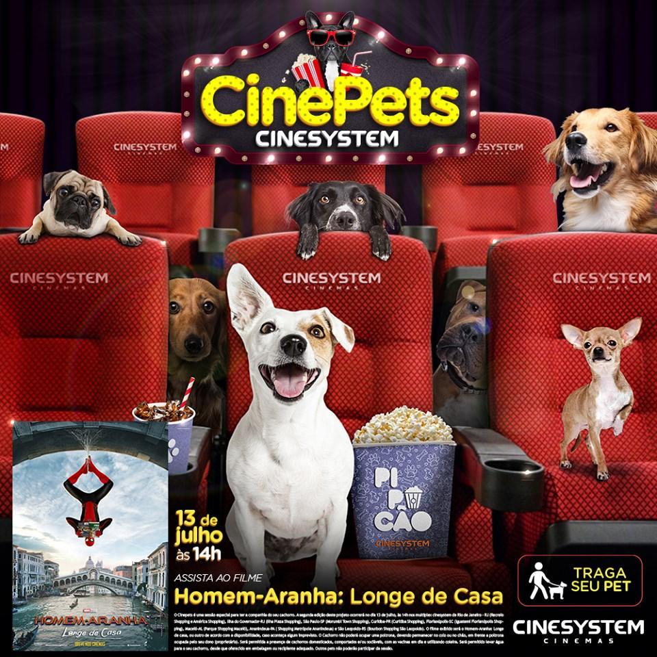 Sessão de cinema pet friendly