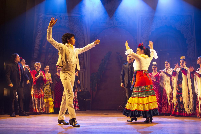 Dança flamenca com Gabriel Matias