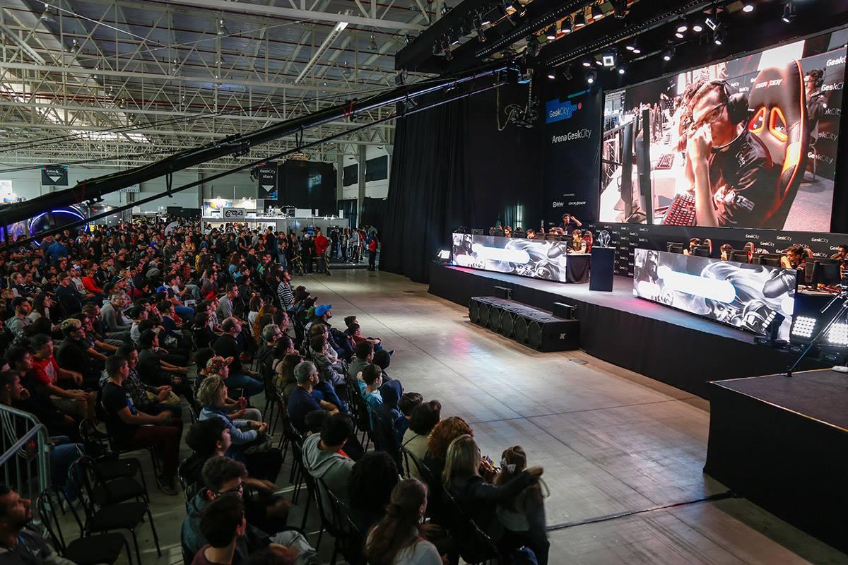 Maior arena gamer do Sul do Brasil