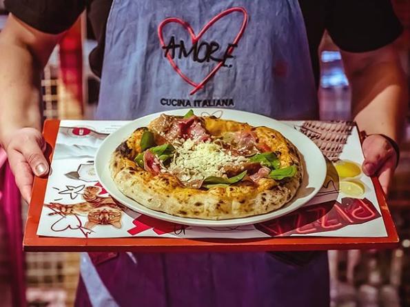 Promoção de pizza
