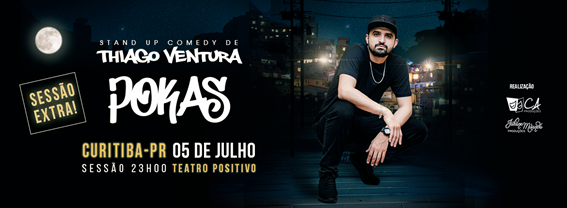 PROMOÇÃO: Thiago Ventura - Pokas