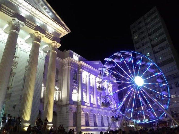 Atrações natalinas em Curitiba