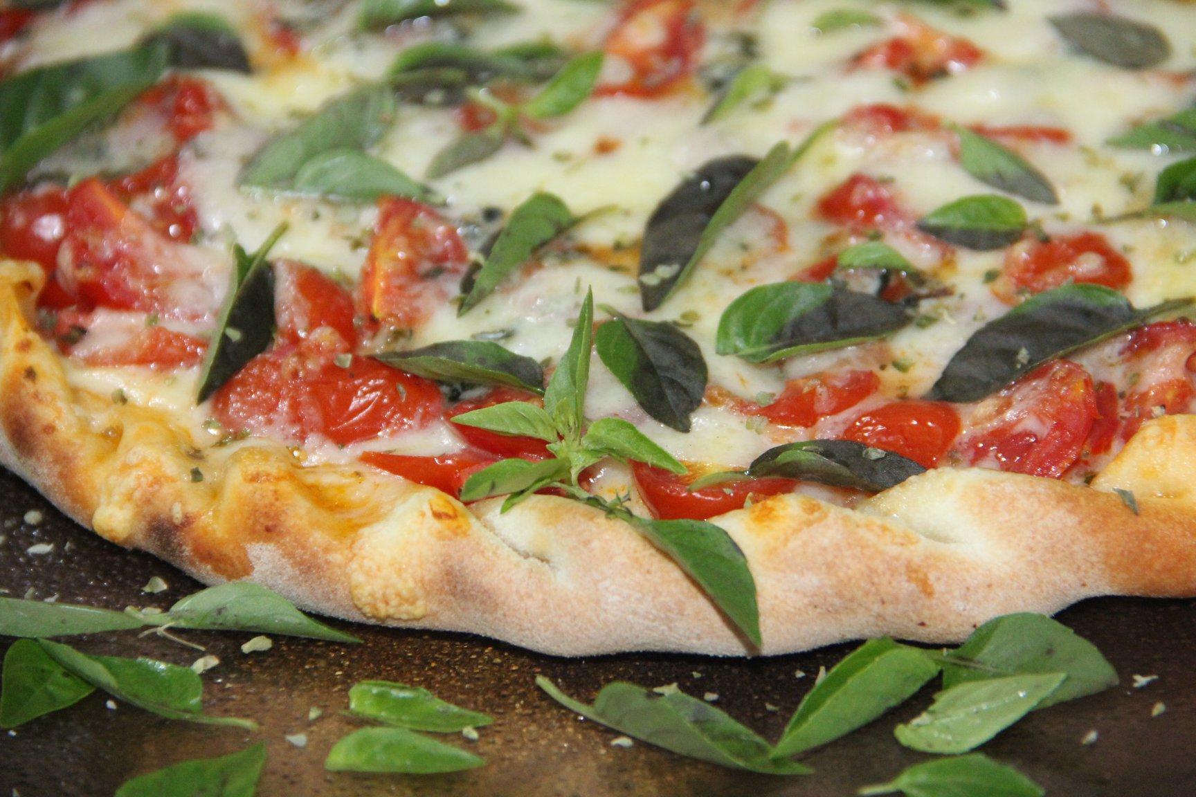 Pizza no O Jardineiro