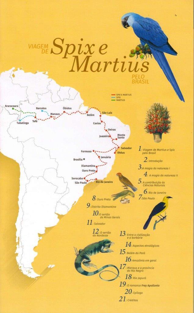 200 anos da viagem de Spix e Martius