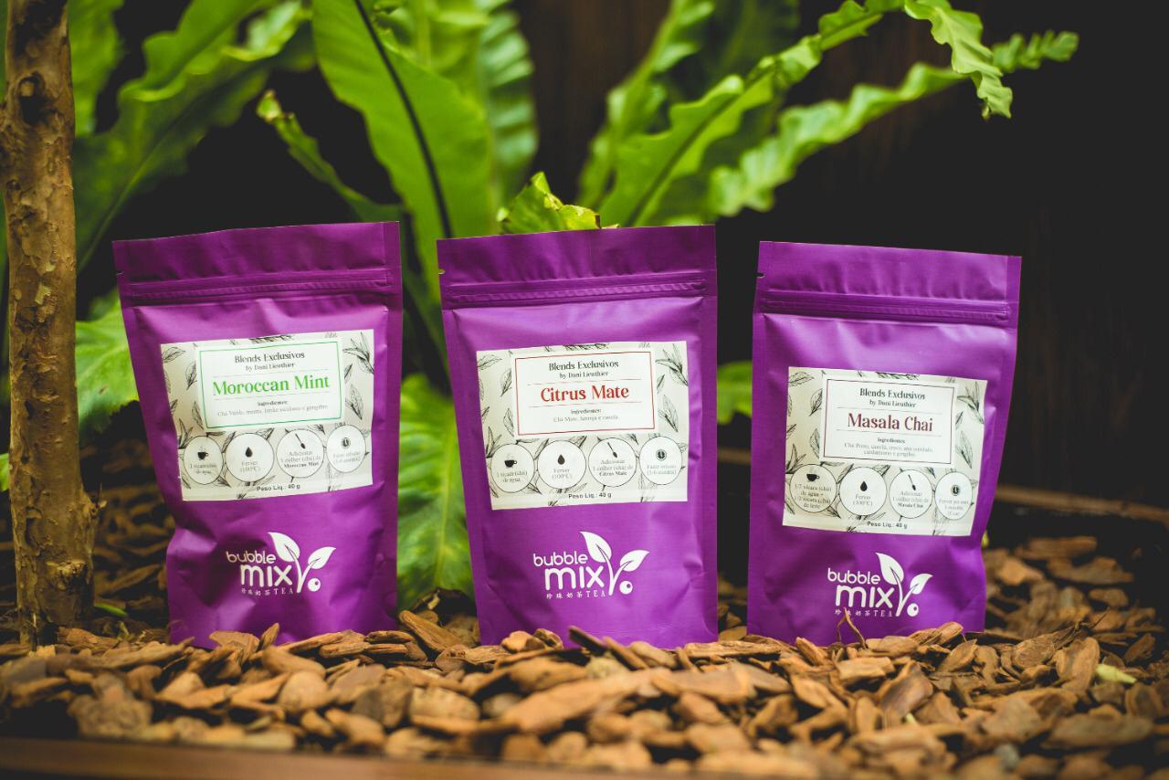 Linha Premium na Bubble Mix Tea