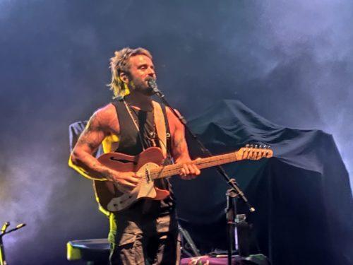 Xavier Rudd mostrou seu folk pela primeira vez em Curitiba
