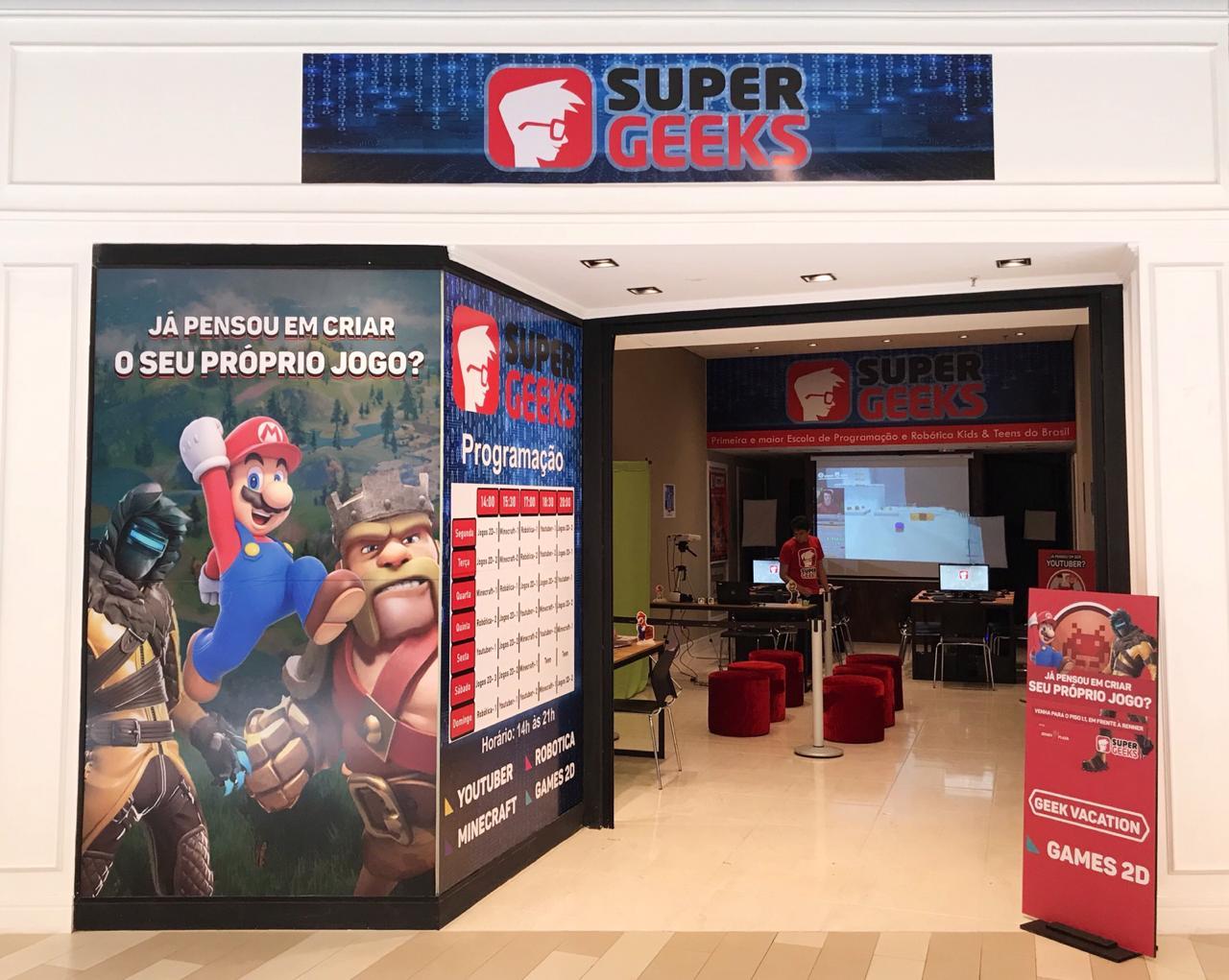 Oficina SuperGeeks