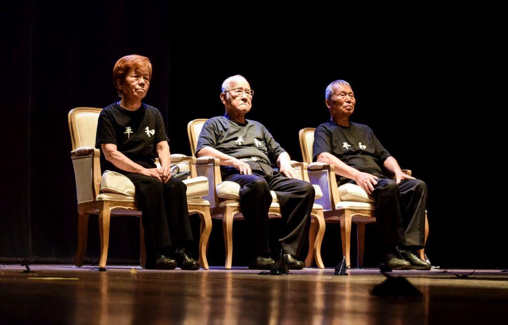 Os Três Sobreviventes de Hiroshima