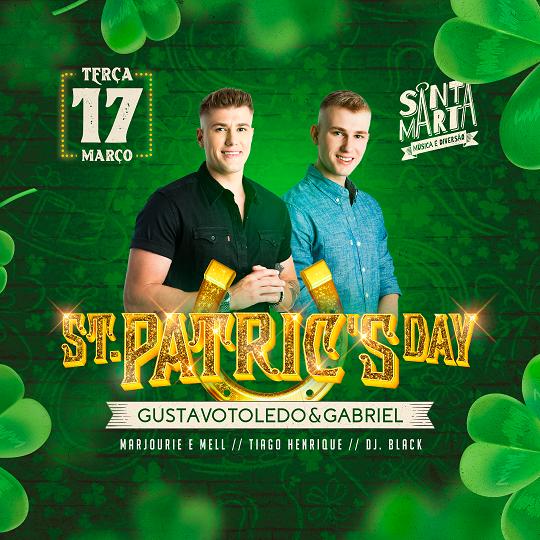 PROGRAMAÇÃO SUSPENSA: St. Patricks Day no Santa Marta Bar