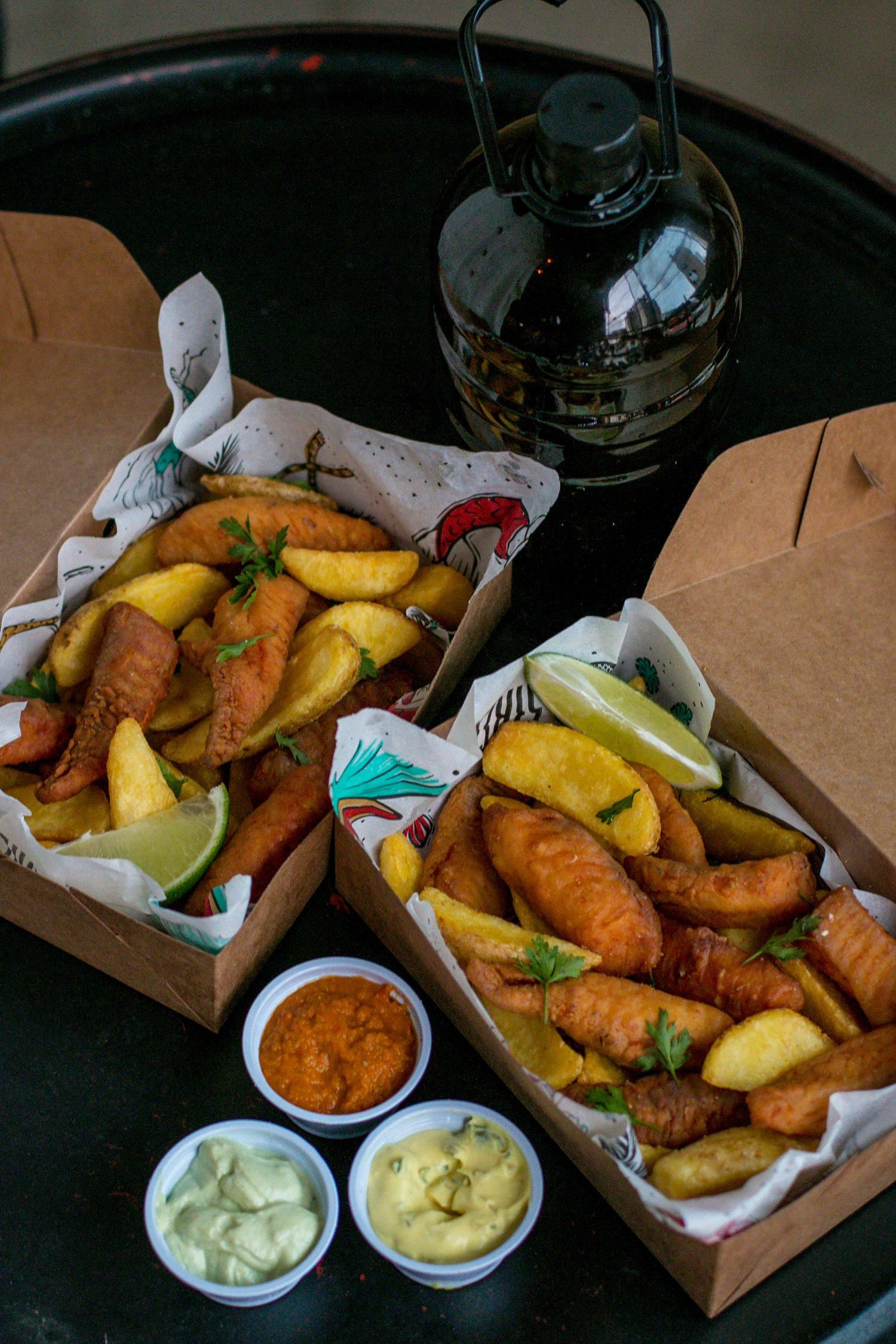 Drive Thru do Sirène Fish & Chips