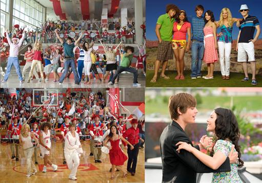 14 anos de High School Musical