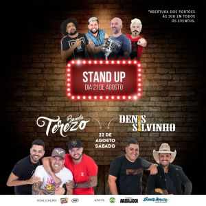 Sertanejo, Pagode e Stand Up no Autocine Show