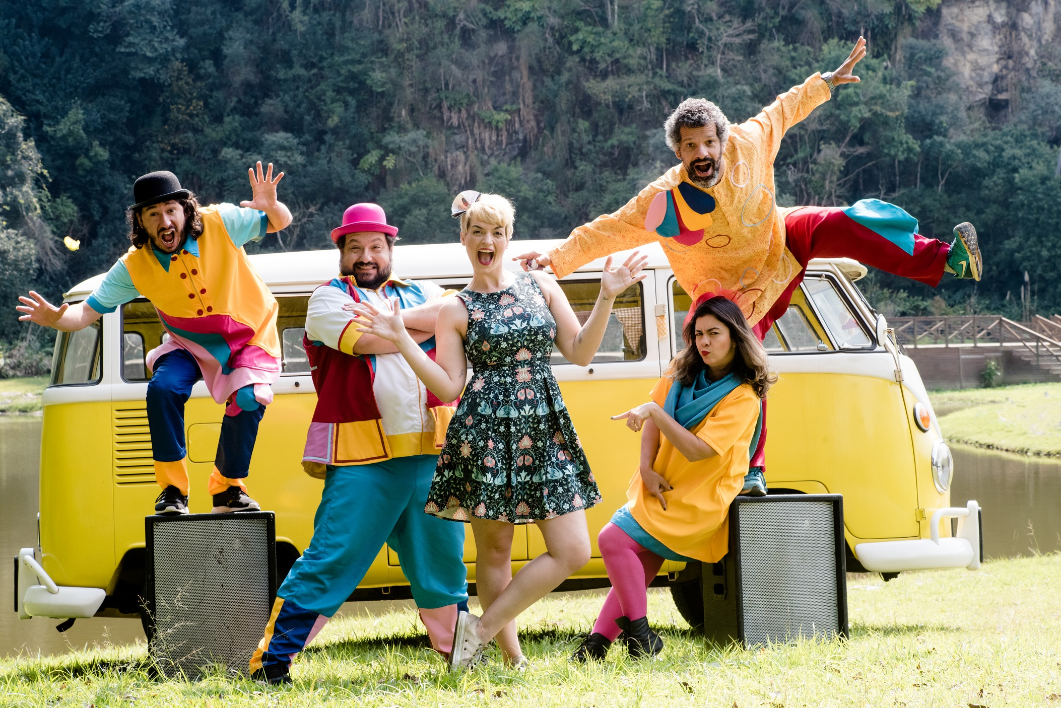 Show infantil no formato drive-in