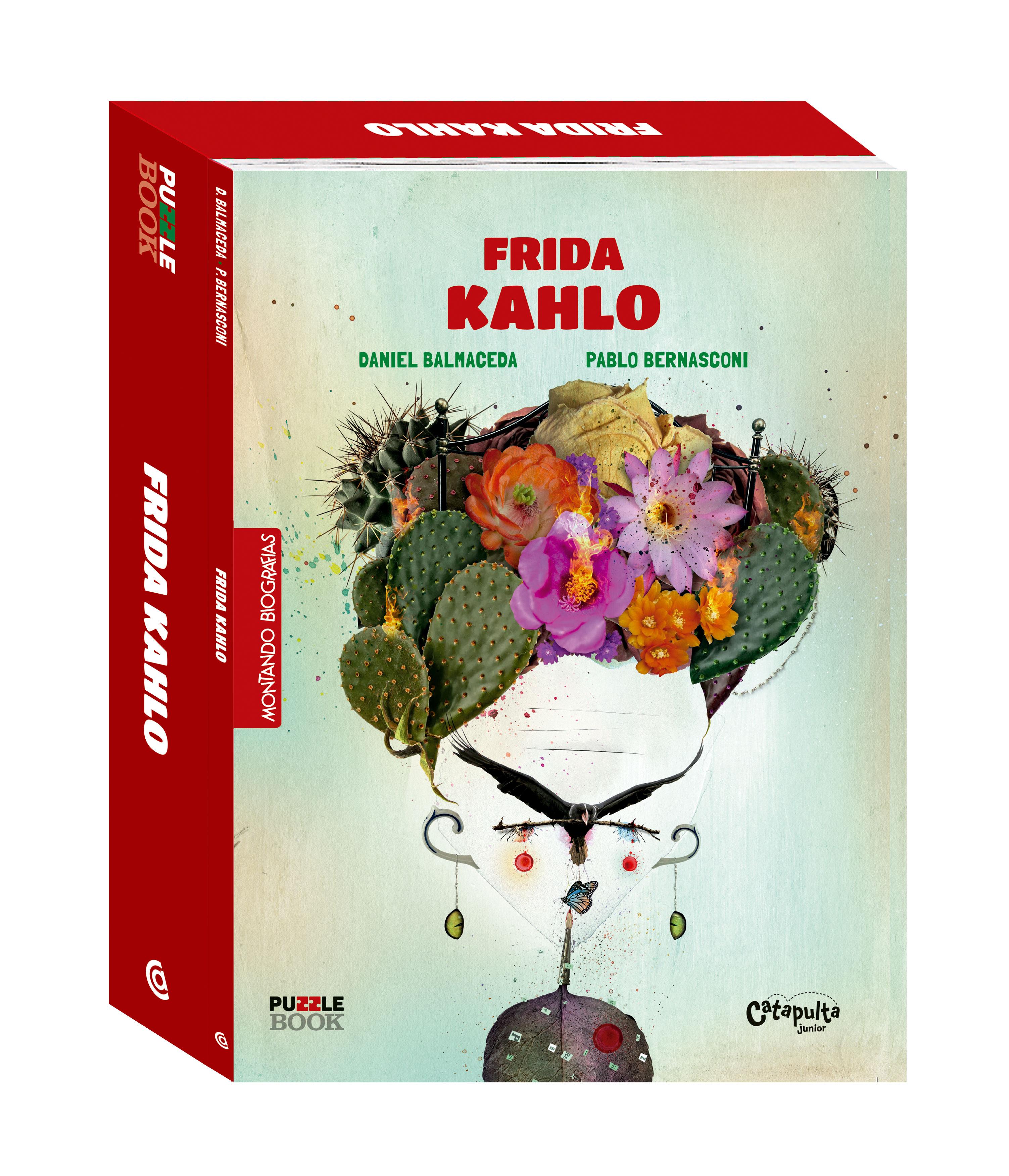 Frida Kahlo vira puzzle book