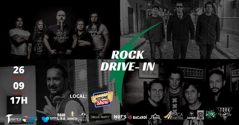 Rock no formato drive-in