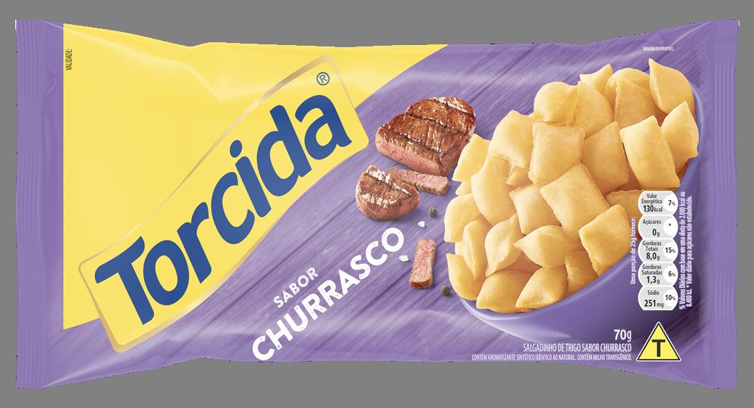 Os snacks TORCIDA® estão de cara nova